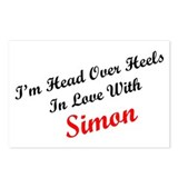 In Love with Simon Postcards (Package of 8)