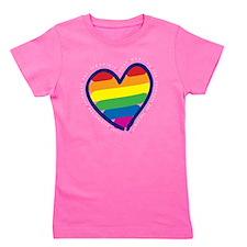 Rainbow Back copy Girl's Tee