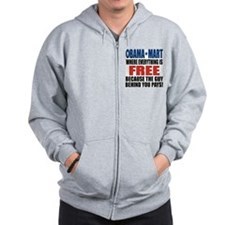 o_mart_shirt_lt_c3 Zip Hoodie