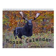 Moose Wall Calendar 2