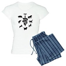 caduceus animals Pajamas