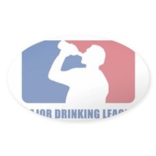 Major Drinking League Decal