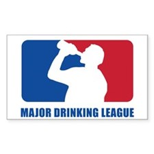 Major Drinking League Stickers