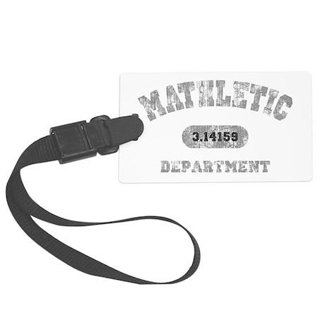 math-dept-DKT Large Luggage Tag