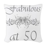 50th gifts Throw Pillows