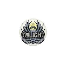 Twilight Blue Wings Mini Button