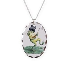 snakeoilfrog Necklace Oval Charm