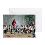 """Advance!"" Olustee Reenactment Greeting Cards"
