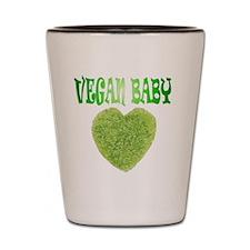vegan baby Shot Glass
