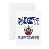 PADGETT University Greeting Cards (Pk of 10)