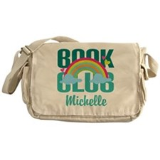Personalized Book Club Gift Messenger Bag