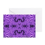 Fractal FS~01 Greeting Cards (10 Pack)