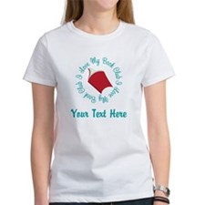 Personalized I Love My Book Club T-Shirt