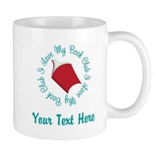 Personalized I Love My Book Club Mugs