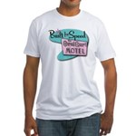BFS the Coral Court Motel Fitted T-Shirt (white)