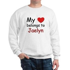 My heart belongs to jaelyn Sweatshirt