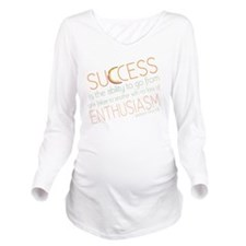 success3 Long Sleeve Maternity T-Shirt