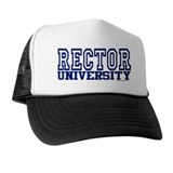 RECTOR University Trucker Hat
