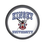 KINSEY University Wall Clock