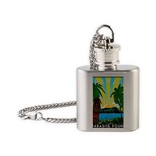 HAWAIIDECO_pcard Flask Necklace