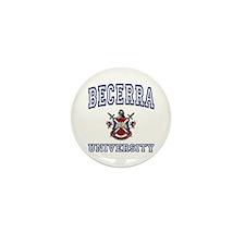 BECERRA University Mini Button (100 pack)