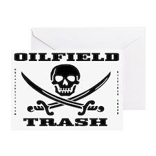 Skull Trash use dd A4 using Greeting Card