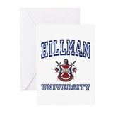 HILLMAN University Greeting Cards (Pk of 10)