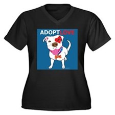 Adopt Love Plus Size T-Shirt