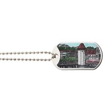 lucerne small print Dog Tags