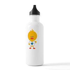 AutismChickDkT Water Bottle