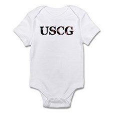 USCG (Flag) Infant Creeper
