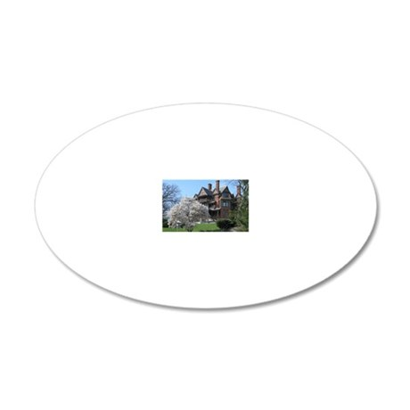magnet 20x12 Oval Wall Decal