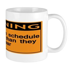 Bumper - Warning Deadlines in schedule  Mug