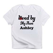 Loved By My Aunt Personalized Infant T-Shirt