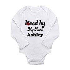 Loved By My Aunt Personalized Body Suit