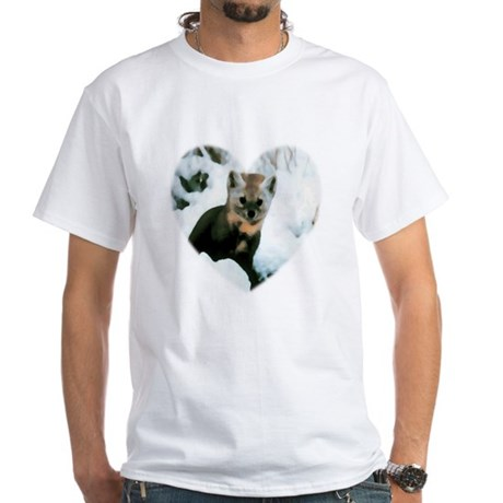 Little Fox White T-Shirt