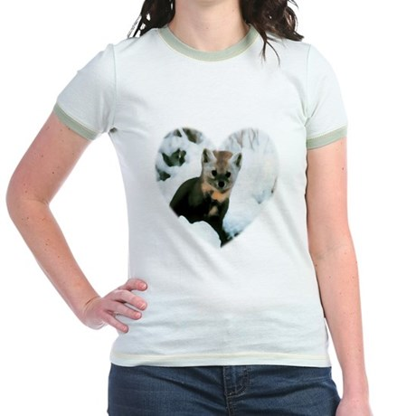 Little Fox Jr. Ringer T-Shirt