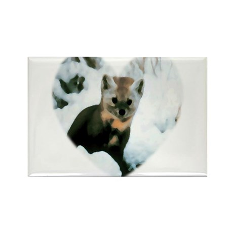 Little Fox Rectangle Magnet (10 pack)