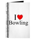 &quot;I Love (Heart) Bowling&quot; Journal