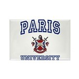 PARIS University Rectangle Magnet