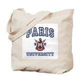 PARIS University Tote Bag