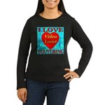 I Love YouTubing Video Lover Women's Long Sleeve D