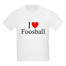 """I Love (Heart) Foosball"" T-Shirt"