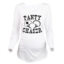 2-panty Long Sleeve Maternity T-Shirt