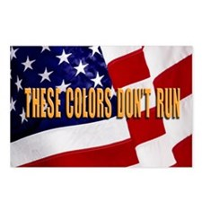 These Colors Dont Run Postcards (Package of 8)