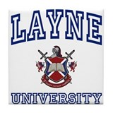 LAYNE University Tile Coaster