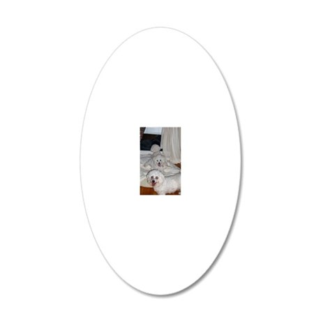 SOPHIE-SASHA-MARCO-ORN-Apr- 20x12 Oval Wall Decal
