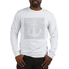 Amazing Grace Anchor Long Sleeve T-Shirt