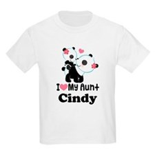 I Love My Aunt Personalized T-Shirt