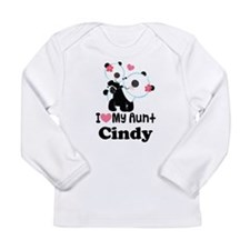 I Love My Aunt Personalized Long Sleeve T-Shirt